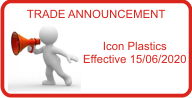 Trade Announcement - Icon Plastics